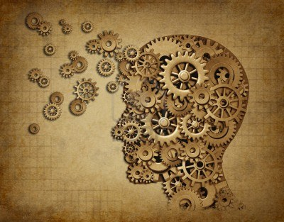11119749-human-intelligence-brain-function-with-grunge-texture-made-of-machine-cogs-and-gears-representing-ed