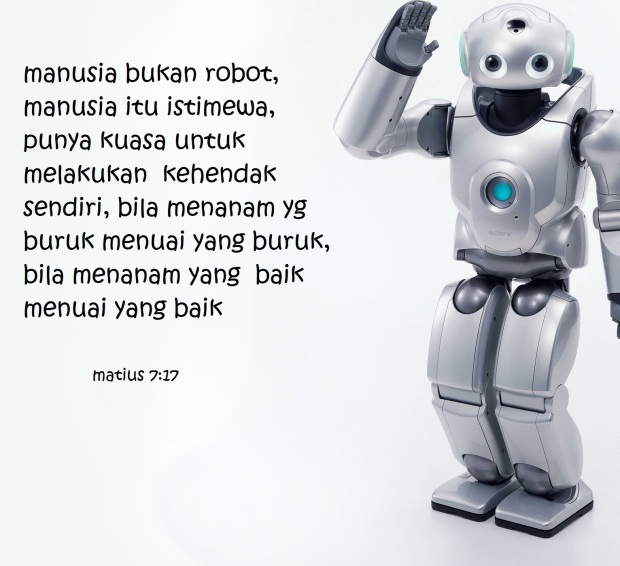 manusia robot
